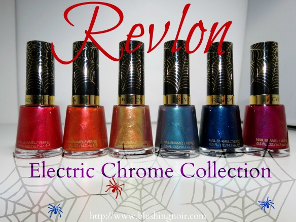 Revlon Electric Chrome Nail Polish Collection Amazing Spiderman Swatches Review