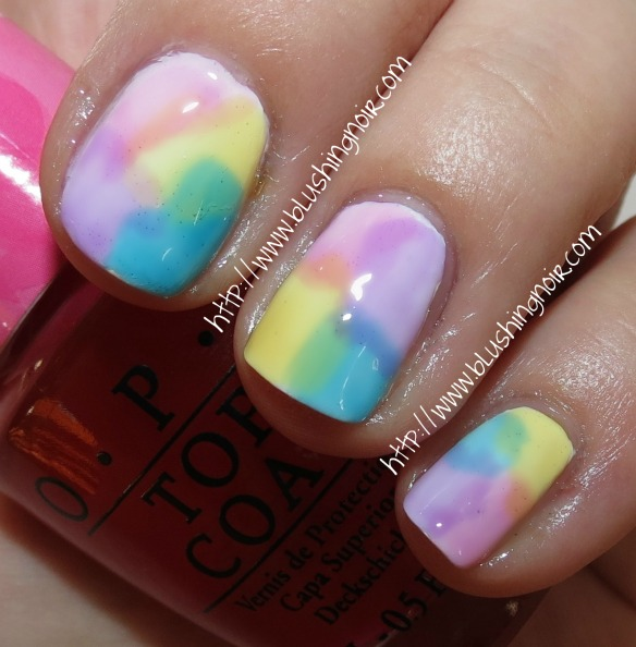 Sheer Tints by OPI Nail Polish Swatches Nail Art Watercolor Easter