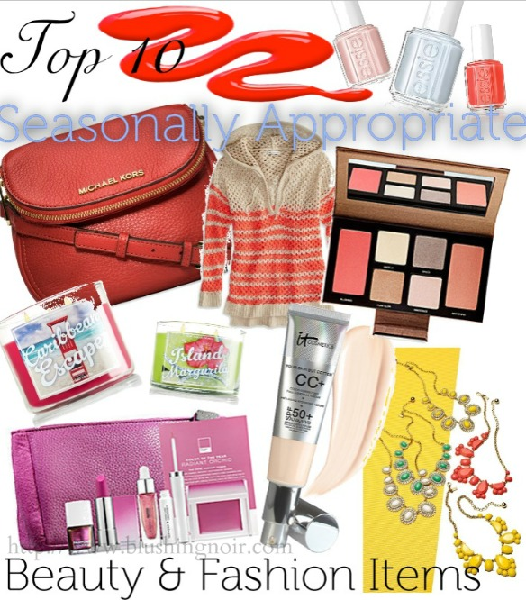 Top 10 Beauty Fashion Spring 2014