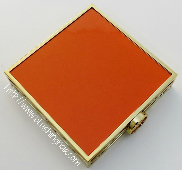 Tory Burch 01 DIVINE Bronzer Blush Highlighter Palette Orange Case