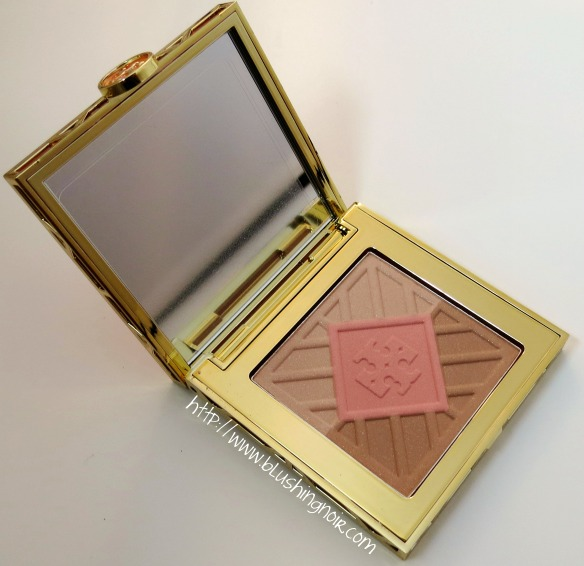 Tory Burch Tory Burch 01 DIVINE Bronzer Blush Highlighter Palette Review