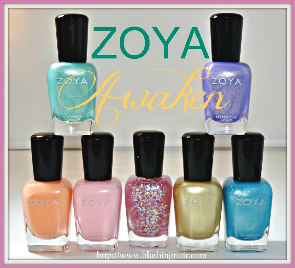 Zoya Awaken Nail Polish Collection Swatches Review Photos