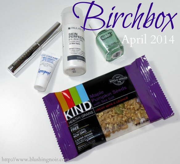 Birchbox April 2014 Swatches Review Photos