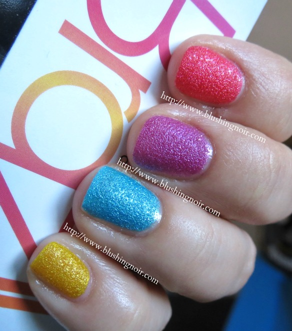 Brazil by OPI Beach Sandies Review Swatches
