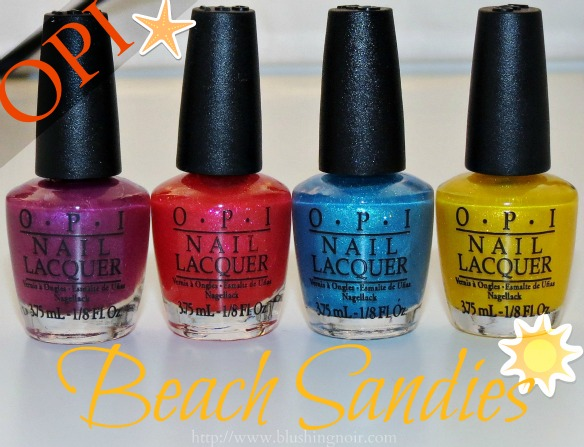 Brazil by OPI Beach Sandies Review