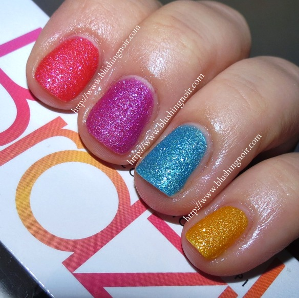 Brazil by OPI Beach Sandies Swatches