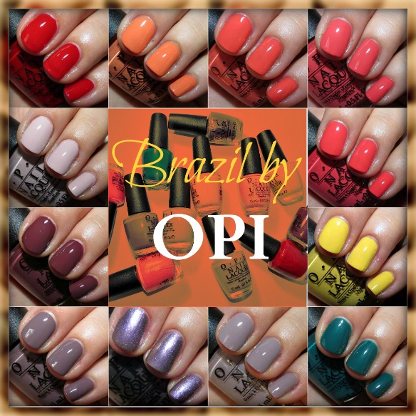 Brazil by OPI Nail Polish Swatches Review