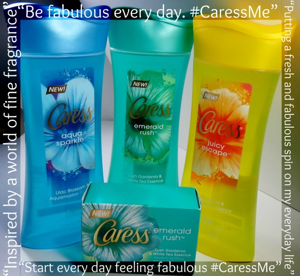 Caress Emerald Rush #CaressMe