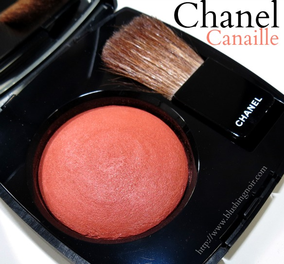 Chanel 89 Canaille Joues Contraste Powder Blush Swatches Review Summer 2014
