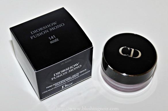 Dior Diorshow Fusion Mono Eyeshadow Rosee Review