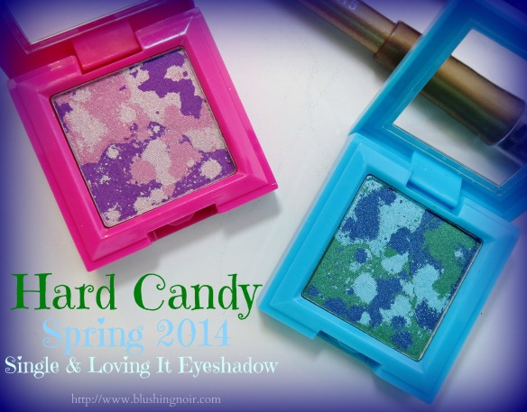 Hard Candy Spring 2014 Single & Loving It Eyeshadow Review