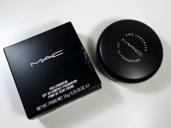 MAC NW20 Pro Longwear SPF20 Compact Foundation