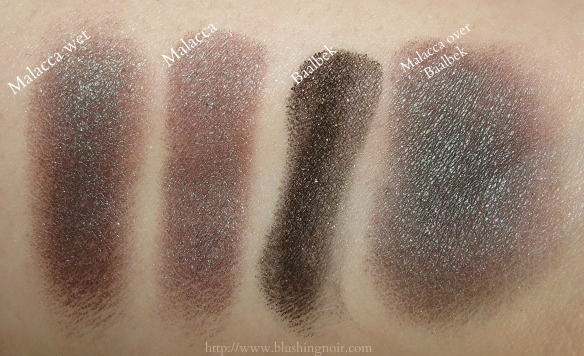 NARS Malacca Eyeshadow Baalbek Eye Paint swatches
