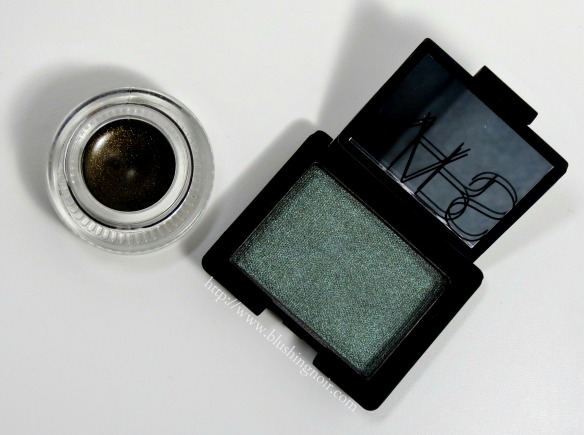 NARS Malacca Single Eyeshadow Baalbek Eye Paint Swatches Review Adult Swim Summer 2014