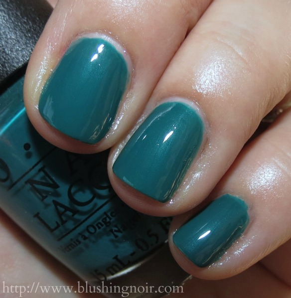 OPI Amazon Amazoff Nail Polish Swatches