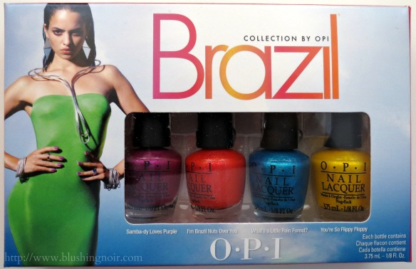 OPI Beach Sandies Review Brazil by OPI