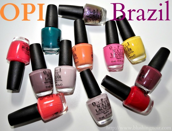 OPI Brazil Nail Polish Review