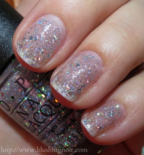OPI Desperately Seeking Sequins Nail Polish Swatches