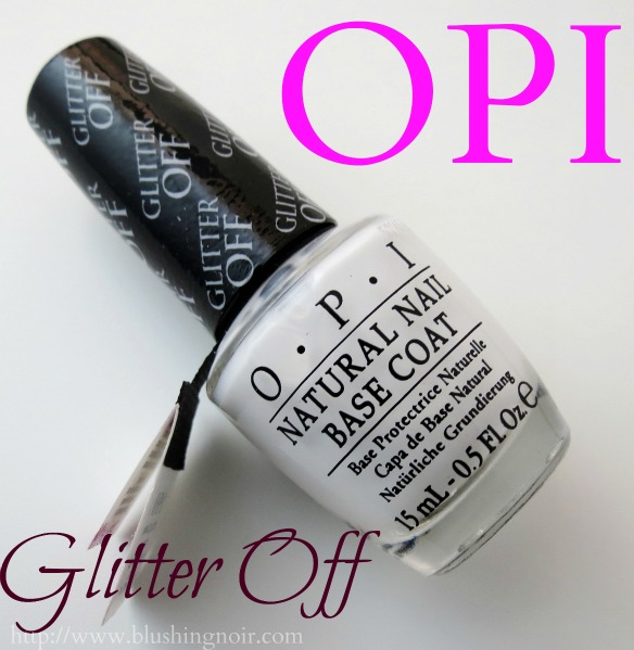 OPI Glitter Off Review Photos