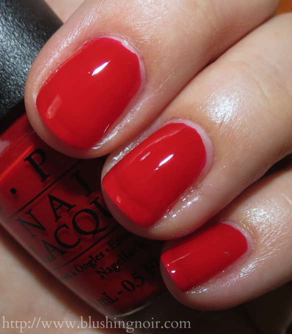 OPI Red Hot Rio Nail Polish Swatches