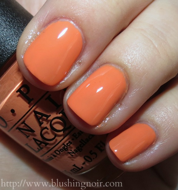 OPI Where Did Suzis Mango Nail Polish Swatches