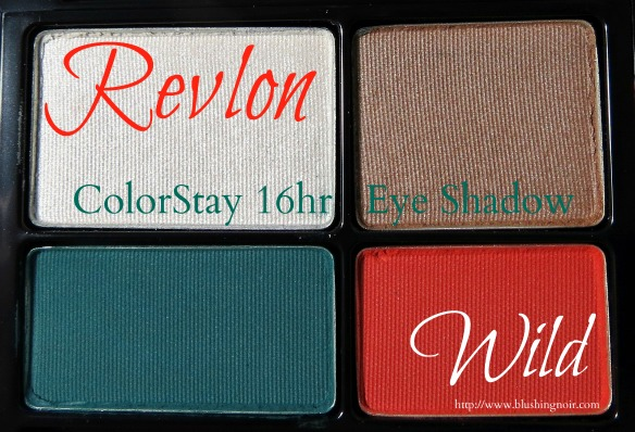 Revlon 587 Wild ColorStay 16hr Eye Shadow Swatches Review Photos