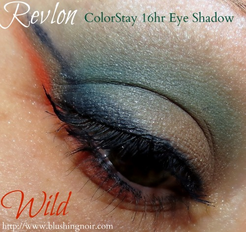 Revlon WILD ColorStay 16hr Eye Shadow Eye Look Swatches