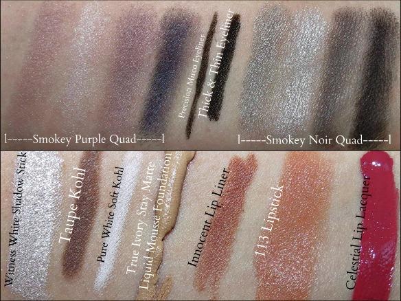 Rimmel Makeup Swatches #beautyinspiration #cbias #shop