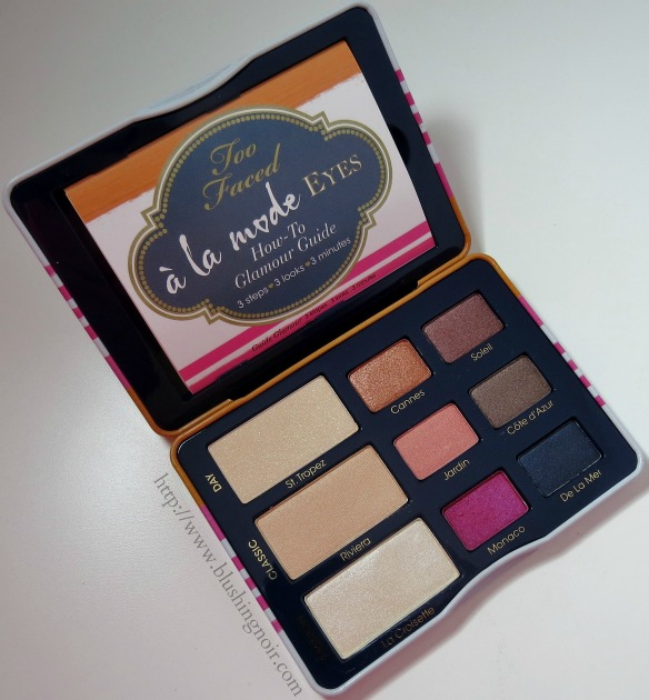 Too Faced A La Mode Eyes Palette Collection Summer 2014