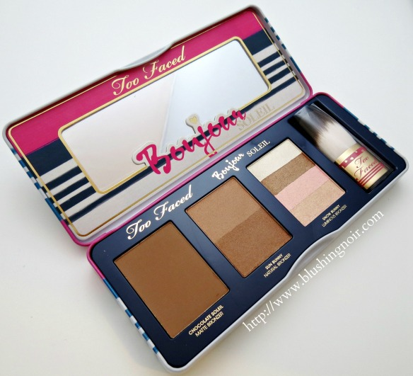 Too Faced Bonjour Soleil Summer Bronzing Wardrobe Cheek Palette review