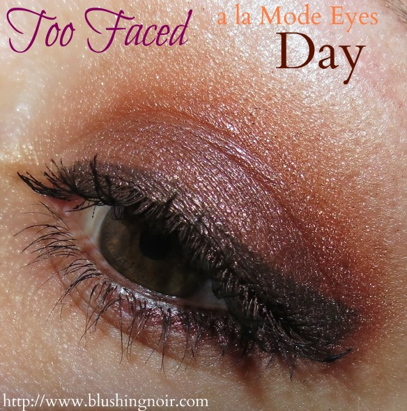 Too Faced DAY A la Mode Eyes EOTD Look
