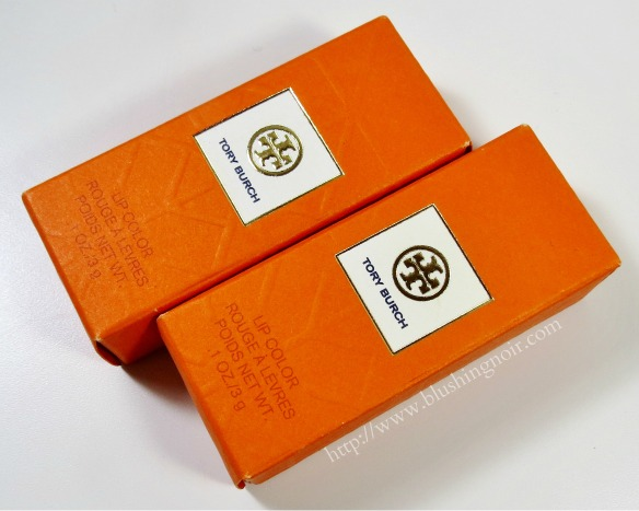 Tory Burch Lip Color Review