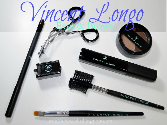 Vincent Longo Eyes & Brows Swatches Review