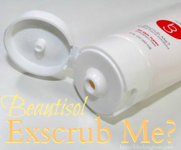 Beautisol Exscrub Me Citrus Face Exfoliant Review