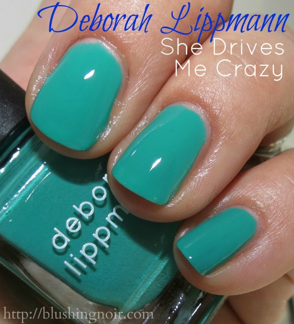 Deborah Lippmann She Drives Me Crazy Nail Polish Swatches