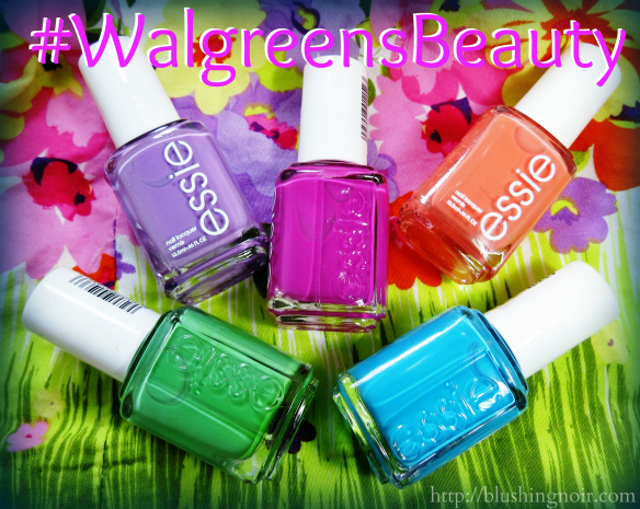 Nailing Spring Nail Trends with Walgreens & Essie! #WalgreensBeauty