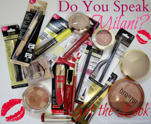 Get the Look Milani Cosmetics Catwalk