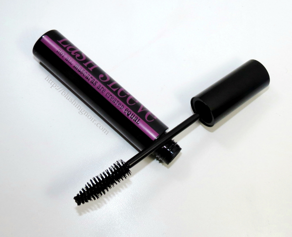 Lash Sleeve Mascara Swatches Review