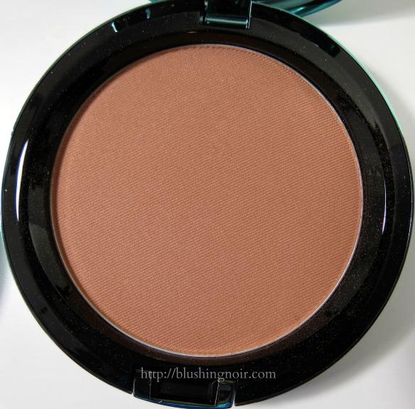 MAC Golden Bronzing Powder Swatches Review