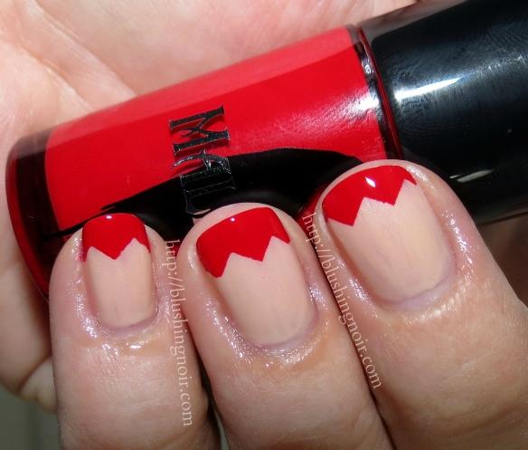 MAC Hangin Loose Flaming Rose Nail Polish Swatches