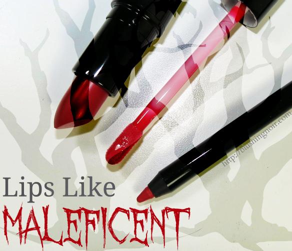 MAC Lips Like Maleficent