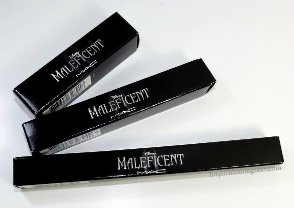 MAC Maleficent Lipstick Lipglass Lip Liner Review