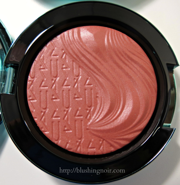 MAC Seduced at Sea Extra Dimension Blush Swatches Review
