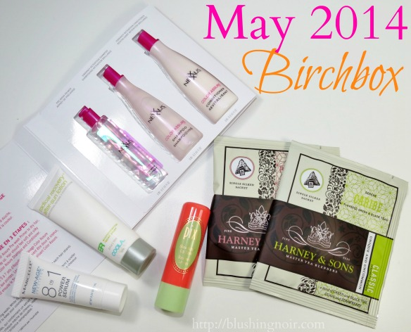 May 2014 Birchbox Photos Swatches Review