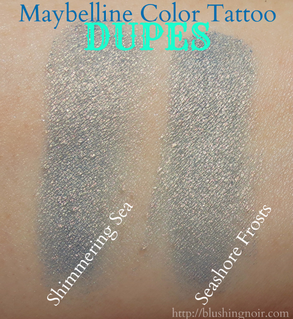 Maybelline Color Tattoo Dupes