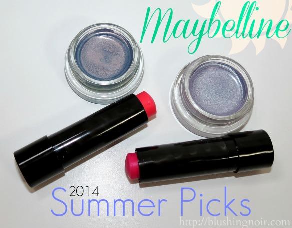 Maybelline Summer 2014 beauty