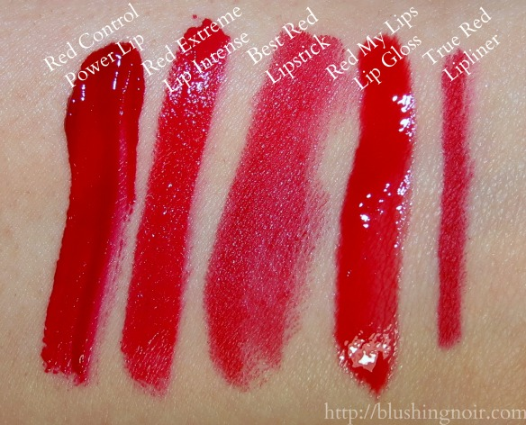 Milani Lip Swatches