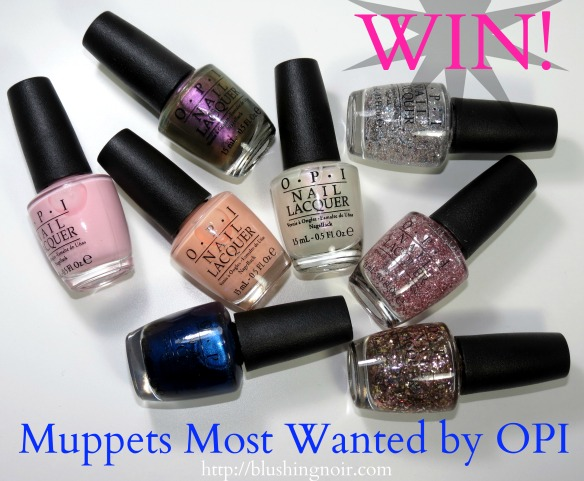 OPI Muppets Most Wanted Nail Polish Giveaway
