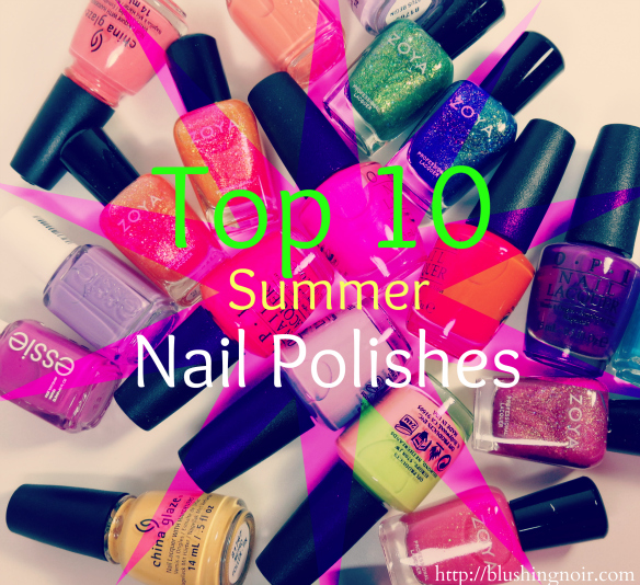 Top 10 Nail Polish Collections for Summer 2014