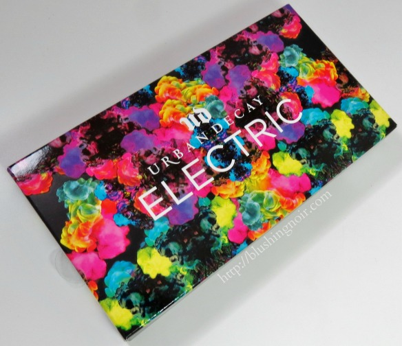Urban Decay Electric Pressed Pigment Palette packaging